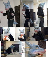 Scimitar Partial Fursuit by TheRoguez