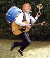 One man rock band heath slater by CaptainMarvelous