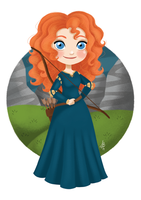 Merida by Inehime
