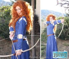 Merida from Brave preview by Pandore11