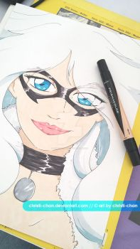 Black Cat marker by christi-chan