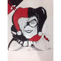 Harley Quinn Skectch_ToonFantasyOfficial by ToonFantasyOfficial