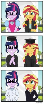 My Little Pony : My Little Sunset by Pony4Koma