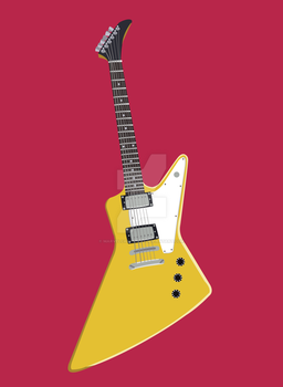 Epiphone Explorer by MARVELCARFAN123