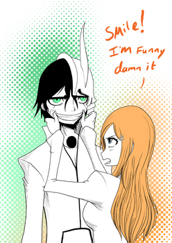 Orihime is funny by dragonmanX