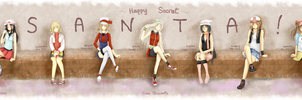 Secret Santa : Hetalia Girls as Pokemon trainers by Shizunette