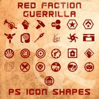 Red Faction Guerrilla Shapes by Retoucher07030