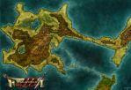 Map of Malaforcia by Stormcrow135
