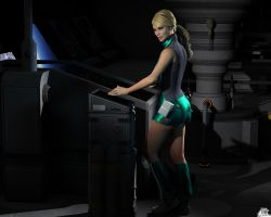 SF - Lt juliette Science Officer - Console 1 by Athenion