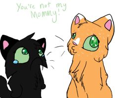 You're not my mommy D: by Ninja-Linx