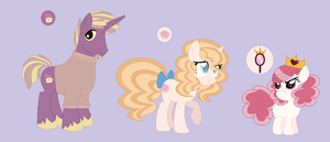 MLP:NG: CheeriBlood Siblings by Strawberry-Spritz