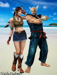 Julia and Heihachi by NatlaDahmer