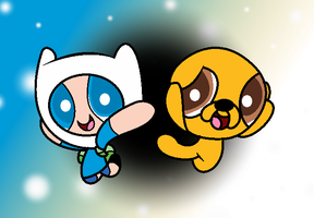 Finn And Jake Vercion Ppg by Thiago082