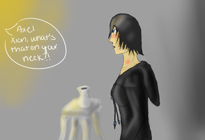 Xion, what's on your neck? by DragonLover4Ever