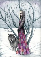 Wolf Willow by dark777fairy
