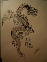 Chinese Dragon by chaos-faction