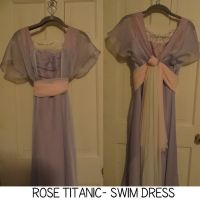 Rose- Titanic Cosplay Preview The Swim Dress by FruitCup-Blondie