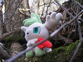 Skymin in the Forest by superphail