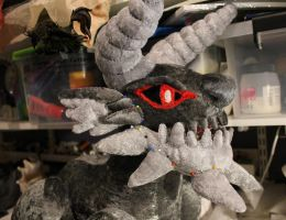 Stygian Zinogre Plush WIP 2 by Forge-Your-Fantasy