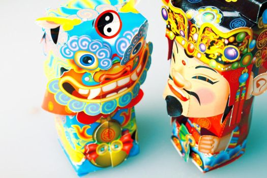chinesee paper craft by hendrywt