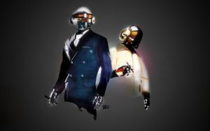 Daft Punk II by MrEikichi
