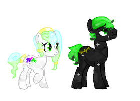 crystal neon and thorn by Deep-Fried-Love