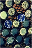 Bottle Caps by emailartist26