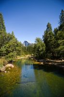 Half Dome Stream by kbrimson