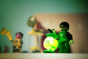 The Green Lantern by The-XDs-and-XPs
