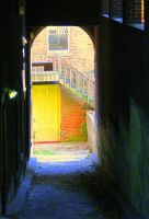 The Yellow Door by AudreyAlger