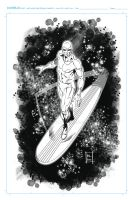 Silver Surfer by kre8uk