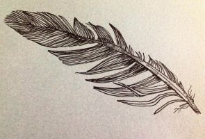 Ink feather by Misnar2