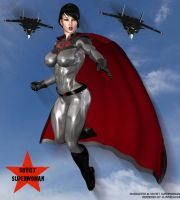 Modern Soviet Superwoman II by Soviet-Superwoman