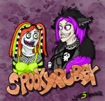 Spooky + Rubex by JustStrange