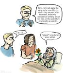 Bucky Meets Peggy by Tavoriel
