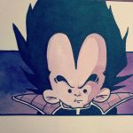 Vegeta 3 10x15 by chocolatePulp