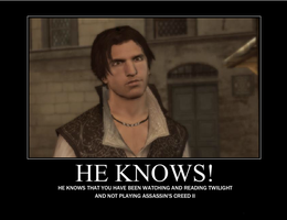 Ezio knows by zezejoker