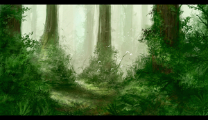 Forest by GabrielWigren