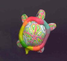 Rainbow Turtle by thecharmedmuse