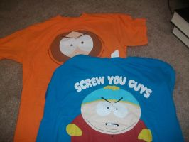 My South Park T-Shirts by South-Park-Fluff