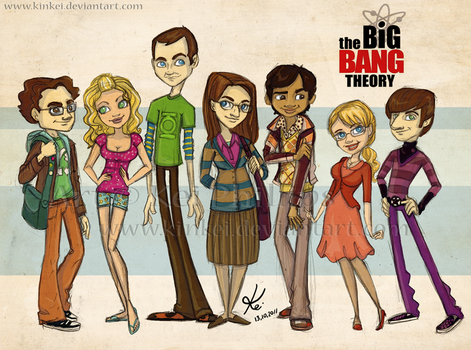 the Big Bang Theory by kinkei