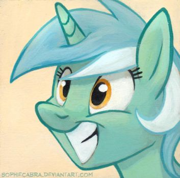 Square Series - Lyra Heartstrings by SpainFischer