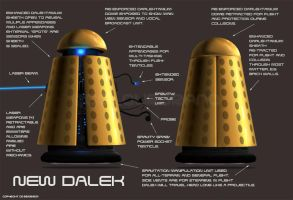 New Dalek by Colourbrand