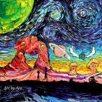 van Gogh Never Saw Another Dimension by sagittariusgallery