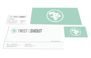 Twist and Shout - Branding and Stationery by spud1077