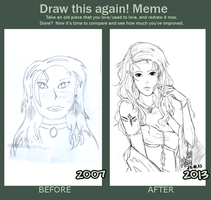 [Draw it again!]-Meme once again! by ArtistMinChen