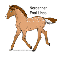 A2357 The Siren - foal design by WhiteWoodWardens