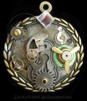 Essence of Steampunk Medal by LuckyKojak