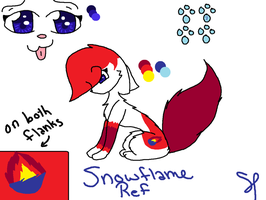 Snowflame Ref by Snowflame132