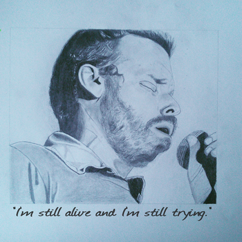 Rob Benedict drawing by MusicalMorphine